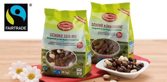 Bio-Knabbermix Fairtrade, Oktober 2013