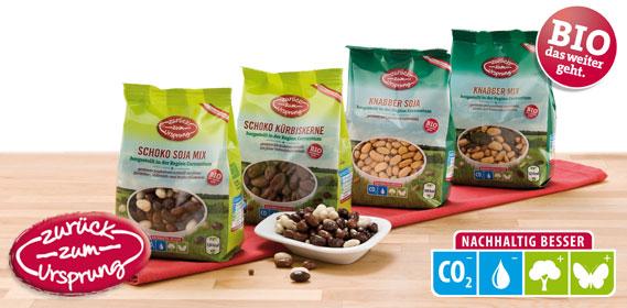 Bio-Knabbermix Fairtrade, Januar 2014