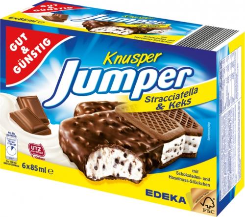 Knusper Jumper Stracciatella & Keks, Januar 2018
