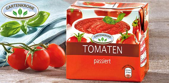 Tomaten, passiert, August 2012