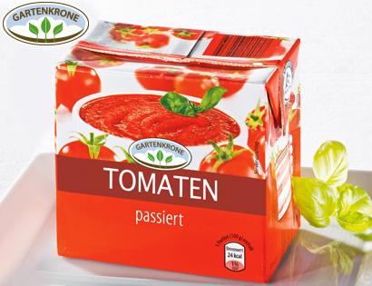 Tomaten, passiert, August 2013