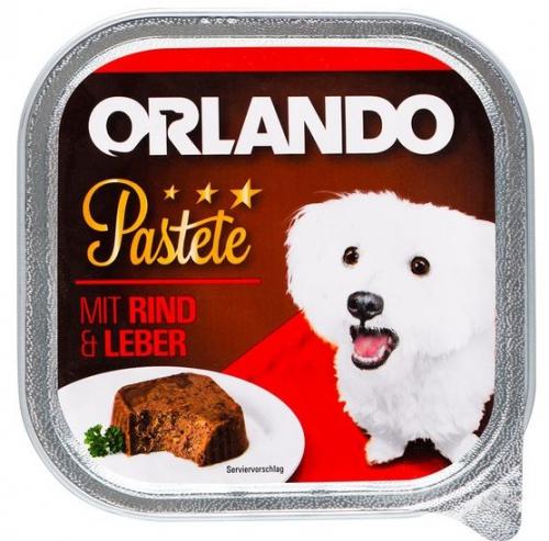 Hundenassnahrung Pastete mit Rind & Leber, Juni 2017