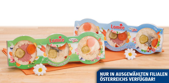Wiener Gabelbissen, 3 x 110 g, Februar 2013