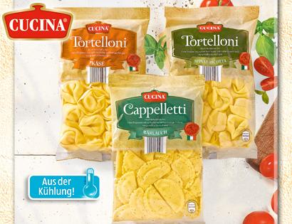 Gefüllte Pasta (Tortelloni), Juli 2013