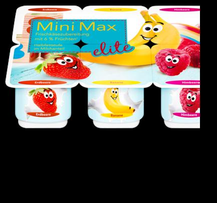 Mini Max Frischkäsezubereitung, Oktober 2017