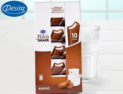 Milch-Snack, 10er-Packung, September 2013