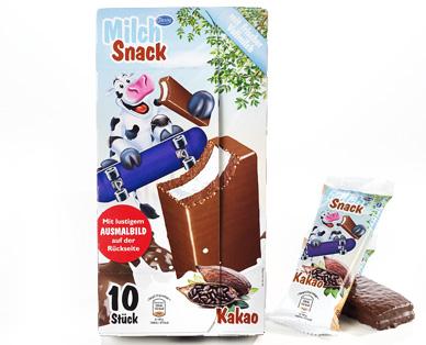 Milch-Snack, 10er-Packung, September 2014