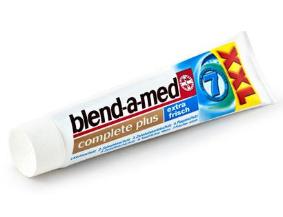 Zahncreme Blend-A-Med, M�rz 2014