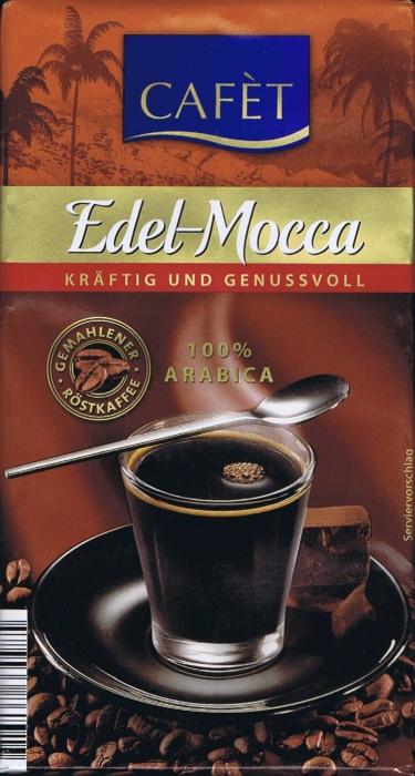 Kaffee Edel-Mokka, Februar 2015