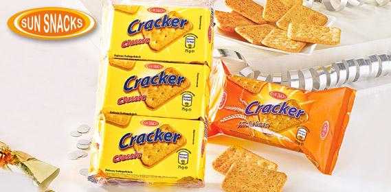 Cracker, 3x 75g, Dezember 2012