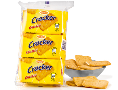 Cracker, 3x 75g, Januar 2014