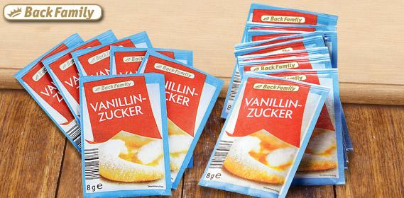Vanillinzucker, 15x 8 g, Oktober 2011