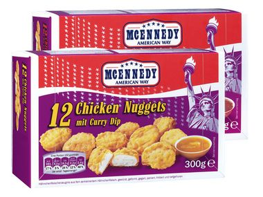 Chicken Nuggets, Januar 2013