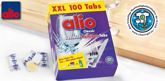 CLASSIC Geschirr-Reiniger-Tabs XXL, Januar 2013
