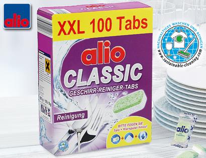 CLASSIC Geschirr-Reiniger-Tabs XXL, September 2013
