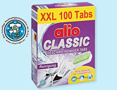 CLASSIC Geschirr-Reiniger-Tabs XXL, Februar 2014