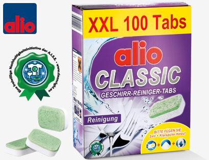 CLASSIC Geschirr-Reiniger-Tabs XXL, Mai 2014
