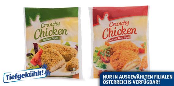 Crunchy Chicken, Februar 2013