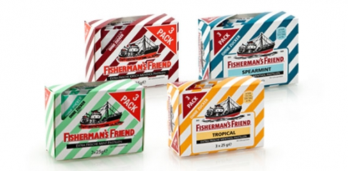 FISHERMAN´S FRIEND Pastillen, 3 x 25 g, Februar 2014