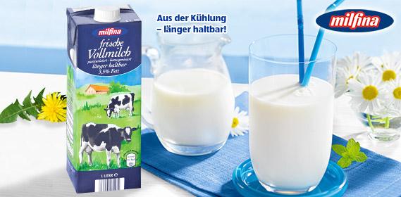 Frische Vollmilch, ESL, 3,5% Fett, Juni 2011
