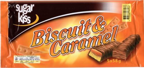Biscuit & Caramel, 5 Stück, Februar 2013
