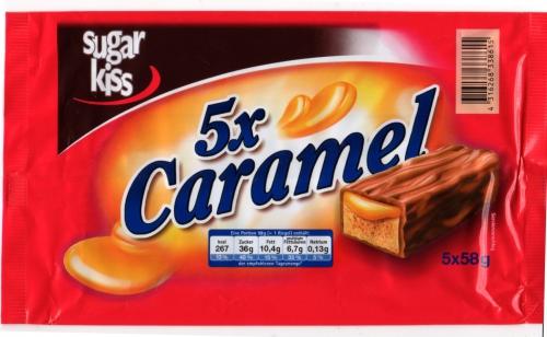 Caramel, 5 Stück, Februar 2013