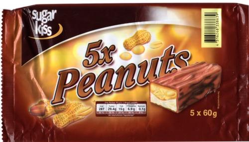 Peanuts, 5 Stück, Februar 2013