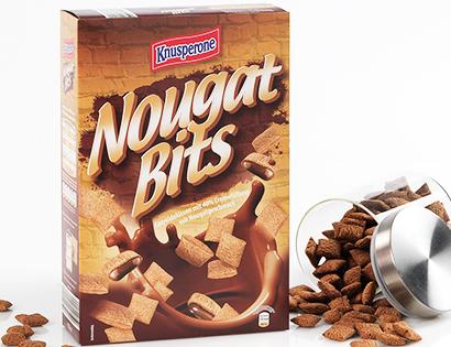 Nougat- / Milk Bits oder Chocara Stars, Januar 2014