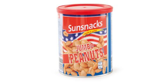 Jumbo-Erdnüsse, Februar 2013