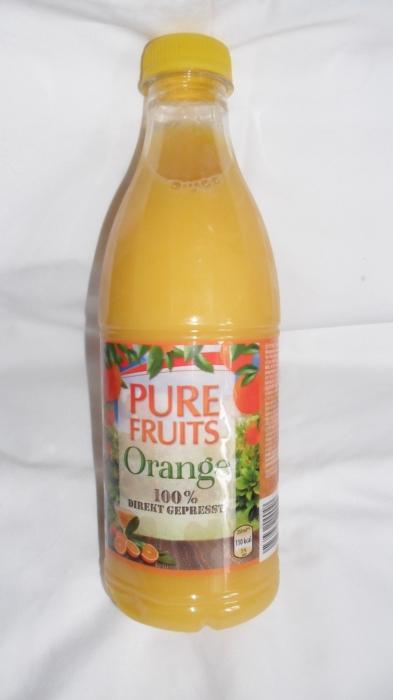 Orangensaft Direkt Gepresst, Februar 2013