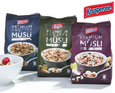 Premium Müsli, Januar 2015