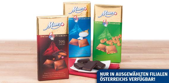 Premium Schokolade, M�rz 2013