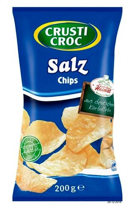 Kartoffelchips - Salz, Dezember 2014