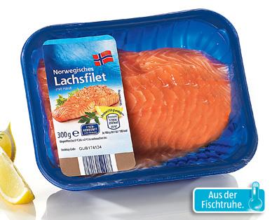 Norwegisches Lachsfilet, Januar 2015