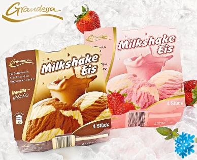 Milkshake Eis, 4x 160 ml, Juli 2014