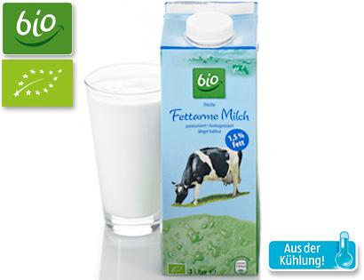 Fettarme Milch, 1,5% Fett, Februar 2014