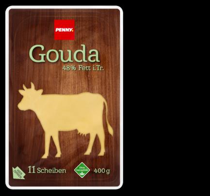 Gouda , 11 Scheiben, November 2017