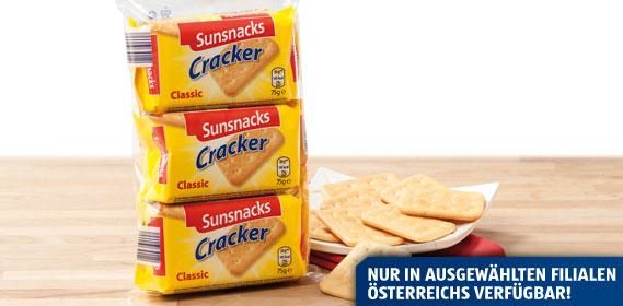 Cracker, 3x 75 g, September 2013
