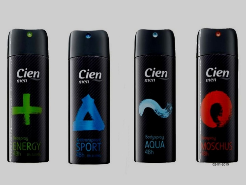 Deospray men, Februar 2015