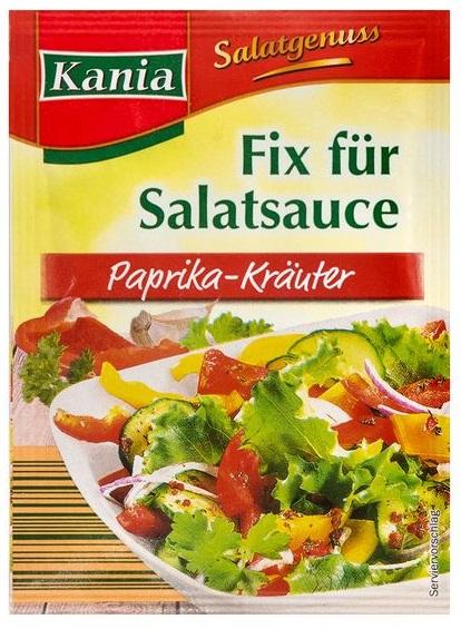 Salatfix Paprikakräuter, Juni 2017