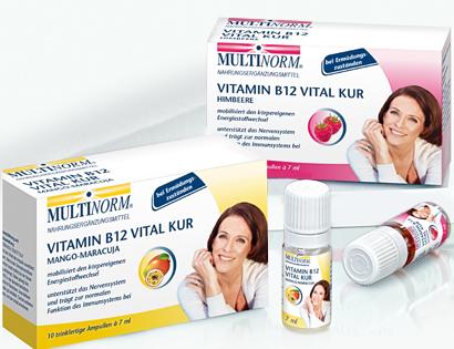 Vitamin B12 Vital Kur, Mai 2013