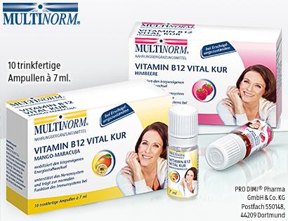 Vitamin B12 Vital Kur, Oktober 2013