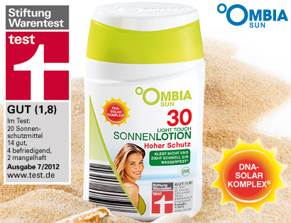 Sonnenlotion - Light Touch - LSF 30, Mai 2013