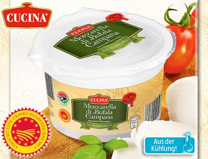 Mozzarella di Bufala Campana DOP, Juli 2013
