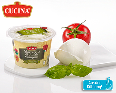 Mozzarella di Bufala Campana DOP, Juli 2014