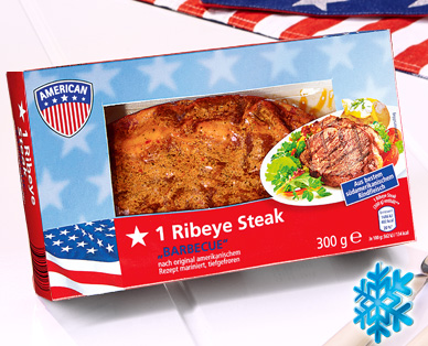"1 Ribeye Steak ""Barbecue"", Juli 2014"