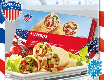 Wraps, 2x 150 g, Juni 2013