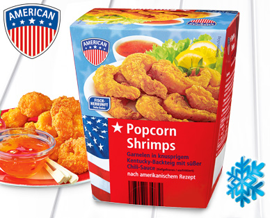 Popcorn Shrimps, Juli 2014