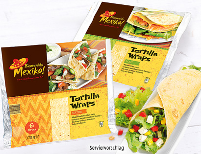Tortilla Wraps, Juli 2013