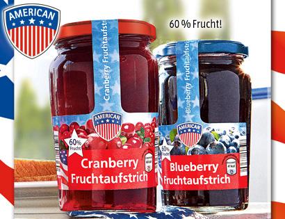 Blueberry- oder Cranberry-Fruchtaufstrich, Juni 2013